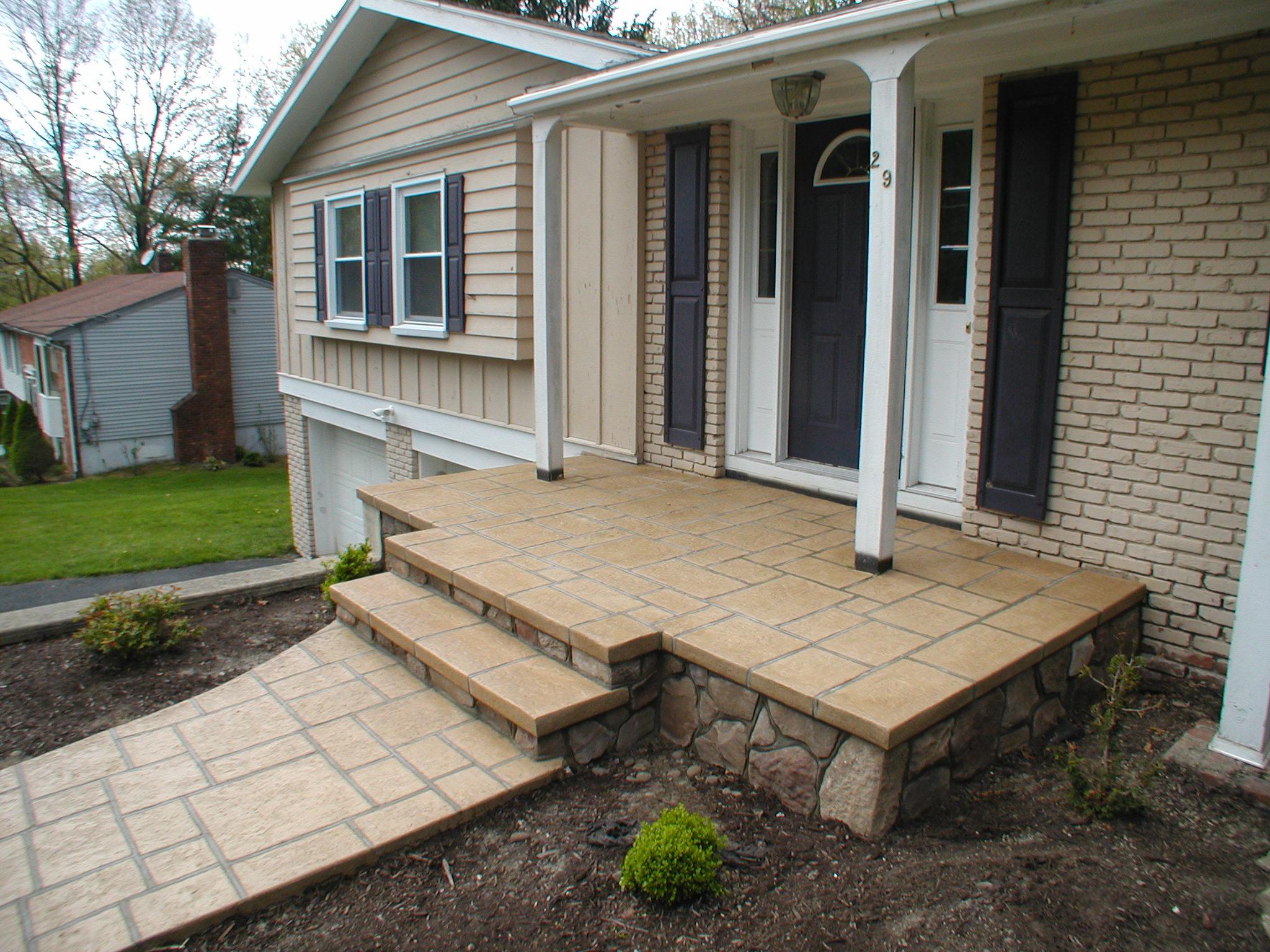 Resurfacing Concrete Steps With Tile | Zef Jam